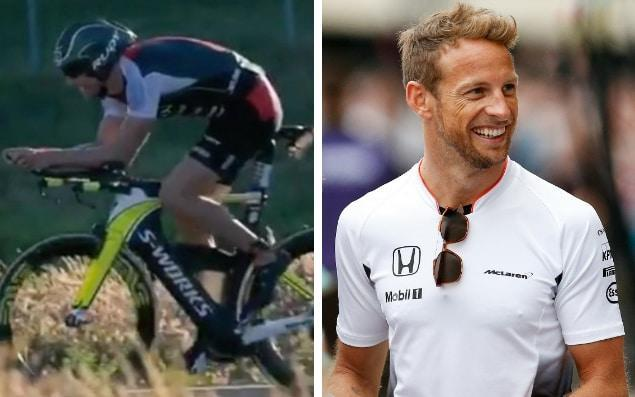 Jenson Button disqualified from Ironman Triathlon championships for speeding on bike