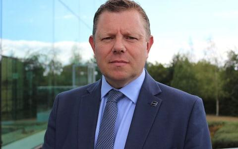 John Apter of the Police Federation of England and Wales