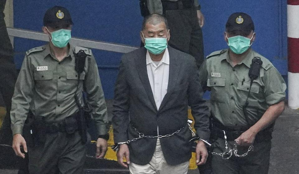 Jimmy Lai is facing a charge under the national security law. Photo: Winson Wong