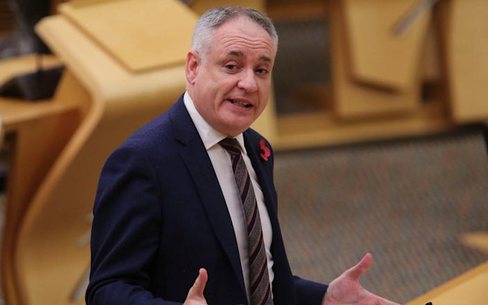 Richard Lochhead, the Higher Education Minister - Getty Images Europe