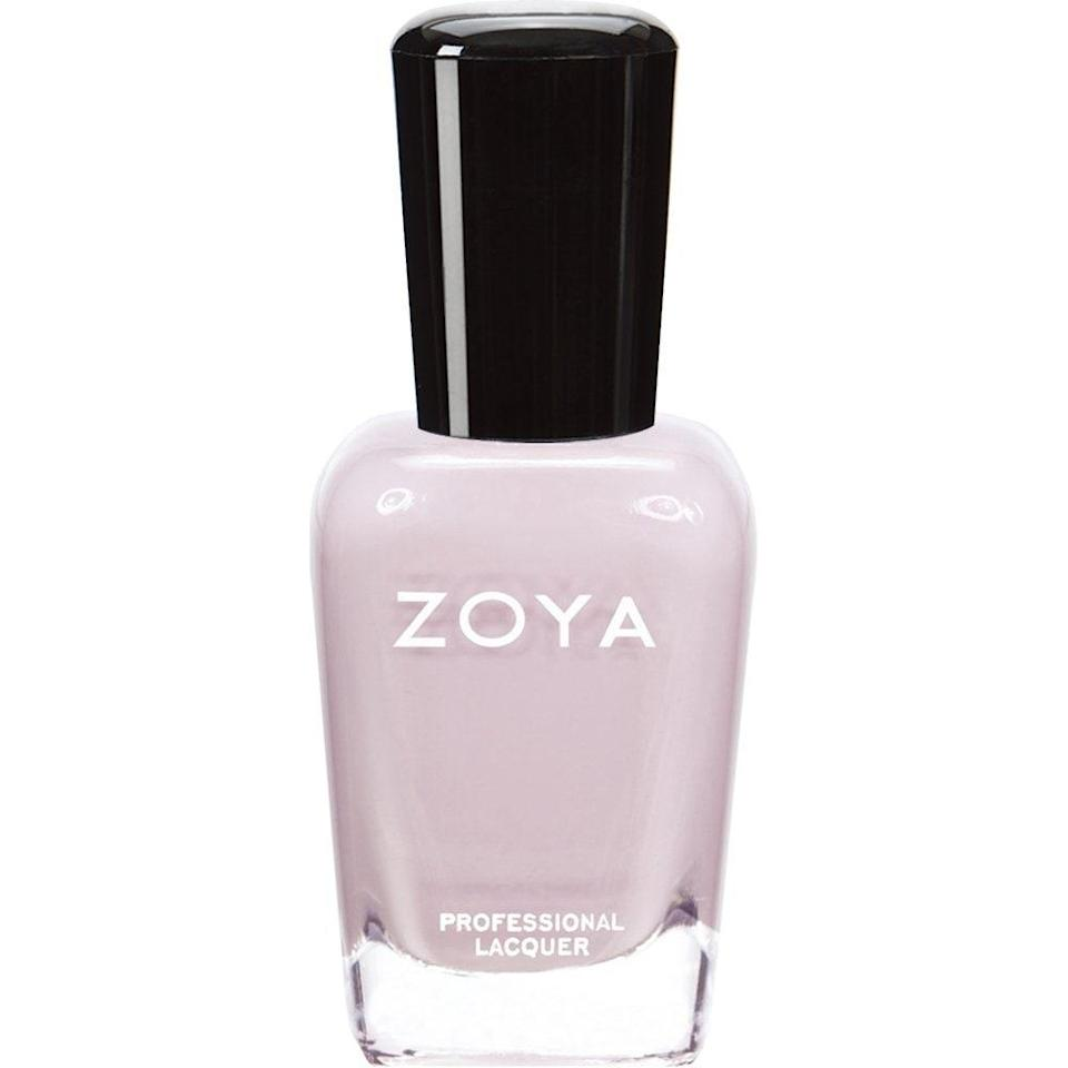 Fun fact: There are about 400 shades of Zoya Professional Lacquer. Even more fun fact: Each one is missing the five most frowned-upon nail polish ingredients: formaldehyde, toluene, DBP, formaldehyde resin, and camphor.