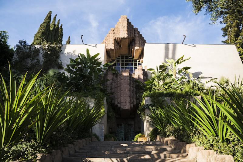 L.A.'s Sowden House, designed in 1926 by Lloyd Wright, Frank's son.