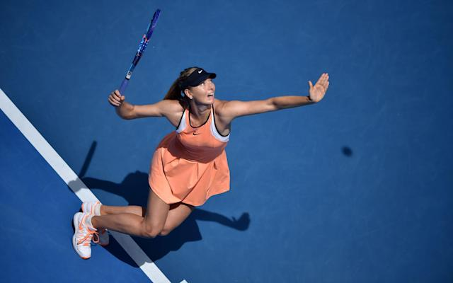 <span>Sharapova will receive a frosty reception from many of her fellow players</span>