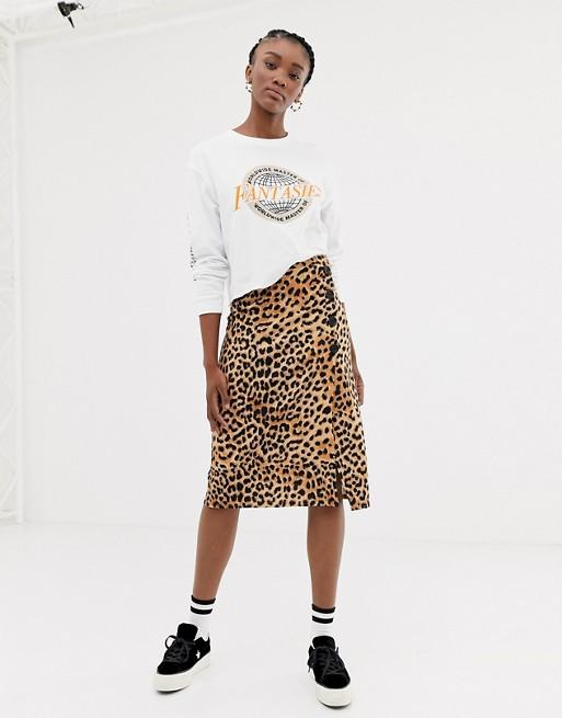 956034e851 14 leopard print skirts to shop if you're on board with the biggest ...