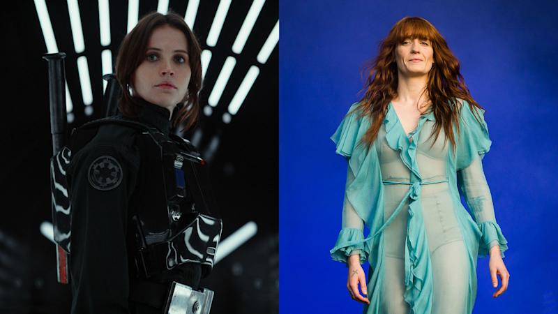 "The unexpected way Florence + The Machine inspired the new ""Rogue One: A Star Wars Story"""