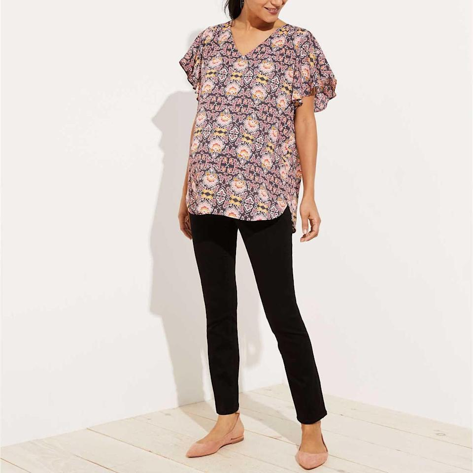 """<p><a class=""""link rapid-noclick-resp"""" href=""""https://go.redirectingat.com?id=74968X1596630&url=https%3A%2F%2Fwww.loft.com%2Fmaternity-petites%2Fcat1890004&sref=https%3A%2F%2Fwww.goodhousekeeping.com%2Fchildrens-products%2Fg34481970%2Fbest-maternity-clothes%2F"""" rel=""""nofollow noopener"""" target=""""_blank"""" data-ylk=""""slk:SHOP NOW"""">SHOP NOW</a></p><p>LOFT is widely known for its petite sizes that are <strong>specially tailored for shorter bodies, not just scaled down from taller sizes.</strong> When it comes to maternity jeans and pants, the brand offers a shorter 25"""" inseam, helping shorter moms-to-be prevent spending extra on getting pants hemmed.<br></p>"""