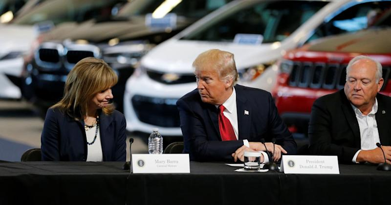 Trump says finishing US study on tariffs on cars from EU