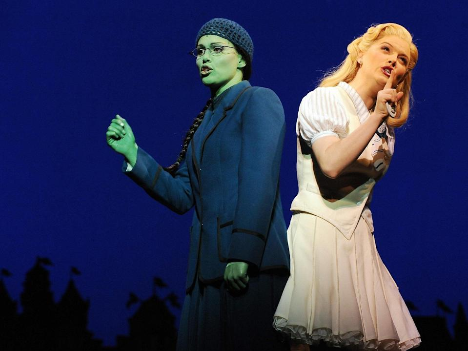 <p>File image: Broadway musical 'Wicked' during the preview in Sydney on September 10, 2009. </p> (Getty Images)
