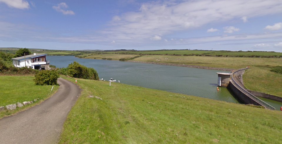 The body was found in Drift Service Reservoir near Penzance, Cornwall. (Google)