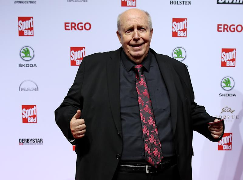 HAMBURG, GERMANY - AUGUST 19: Reiner Calmund attends the Sport Bild Award 2019 at the Fischauktionshalle on August 19, 2019 in Hamburg, Germany.  (Photo by Cathrin Mueller / Bongarts / Getty Images)