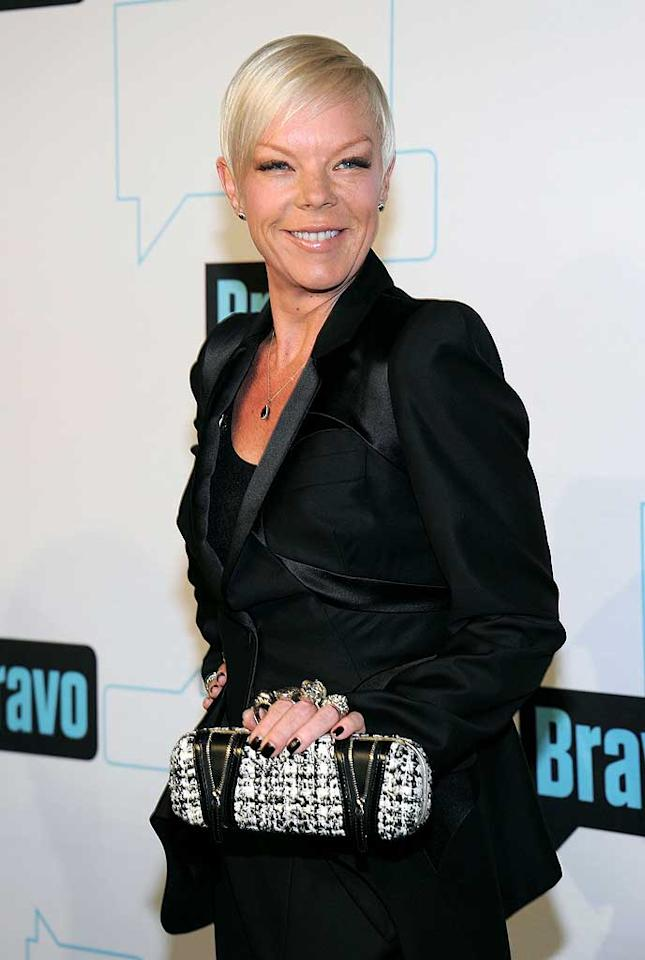 """<p class=""""MsoNormal""""><span style=""""font-size:10.0pt;color:black;"""">Scissor sister Tabatha Coffey is one of our favorite TV stars, and her hit Bravo show, """"Tabatha Takes Over"""" (formerly """"Tabatha's Salon Takeover"""") is a must-see for fans of hairstyling and high drama. Something that's not nearly as dramatic as her series is her relationship with her partner of more than a decade. The happy couple splits their time between New Jersey – where Coffey's Industry Hair Gurus is located – and Los Angeles, where she works out of the star-studded Warren-Tricomi salon on Melrose Avenue.</span></p>"""
