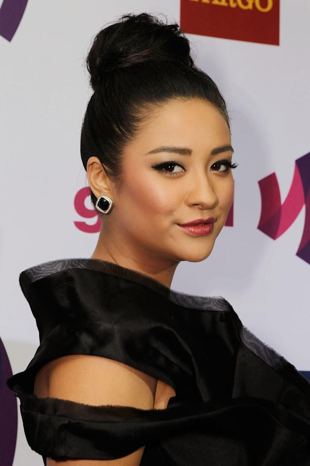 "<p>The star was never afraid of experimenting with her look, as seen with this polished updo at the 22nd GLAAD Media Awards. Instead, she makes sure to have a good time with her squad during glam sessions. ""To be honest, I actually like our glam time more than I do the events. It should never be stressful because, come on, we're putting on makeup and doing hair. How stressful can that actually be?"" (Photo: Getty Images) </p>"