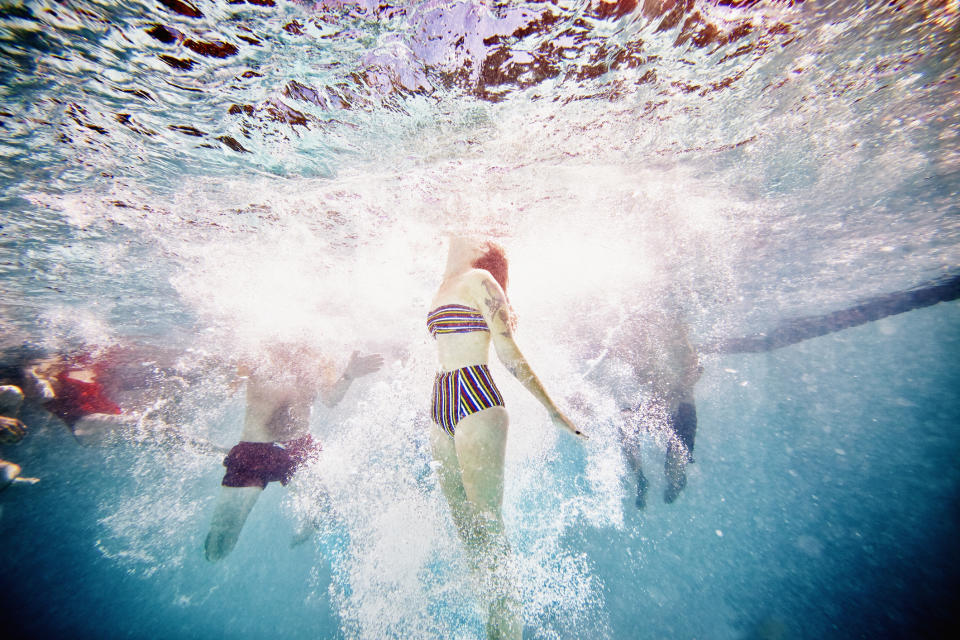 What really happens to your body if you swallow pool water? [Photo: Getty]