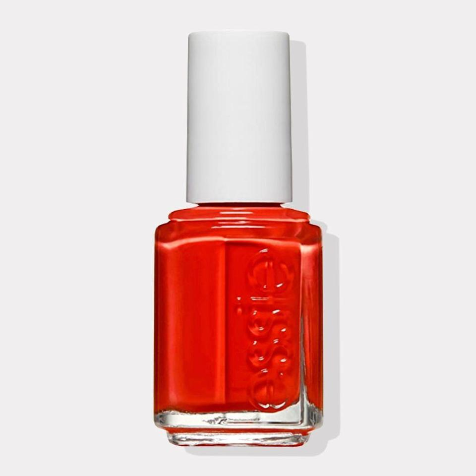 "<p><strong>essie</strong></p><p>amazon.com</p><p><a href=""https://www.amazon.com/dp/B004FGD0VG?tag=syn-yahoo-20&ascsubtag=%5Bartid%7C10072.g.35927219%5Bsrc%7Cyahoo-us"" rel=""nofollow noopener"" target=""_blank"" data-ylk=""slk:Shop Now"" class=""link rapid-noclick-resp"">Shop Now</a></p><p>Being the trailblazer that you are, why not wear a spirited hue this spring? With this bright red on your nails, you'll be encouraged to make moves to accomplish your visions. Look hard enough, and you <em>might</em> be able to see your beautiful reflection in your nails, cheering you on.</p>"