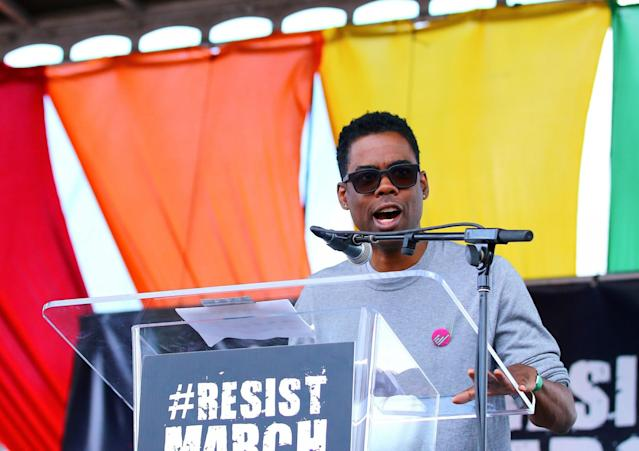 <p>No. 2: Chris Rock<br>Another comedian who's been around for a long, long time, actor and funnyman Chris Rock returns to the limelight with a record-breaking two stand-up special Netflix deal for $40 million. Add that to his income from his Total Blackout Tour and his yearly paycheque comes up to <strong>$57 million</strong>. (Canadian Press) </p>