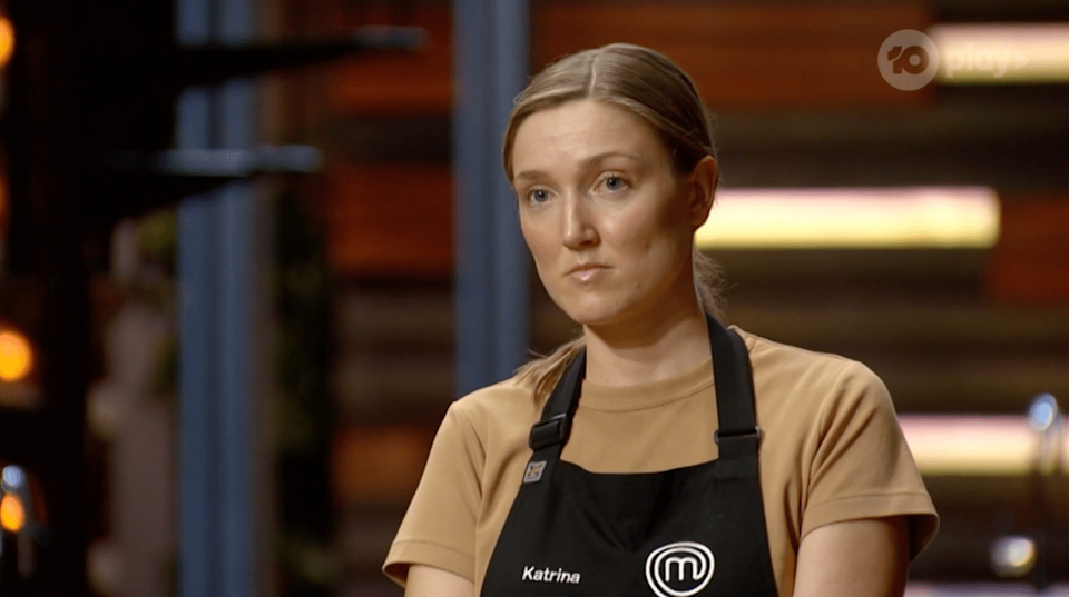 Katrina said she didn't mind so much leaving after a bread challenge as she didn't go into the judging knowing if her food tasted great. Photo: Ten