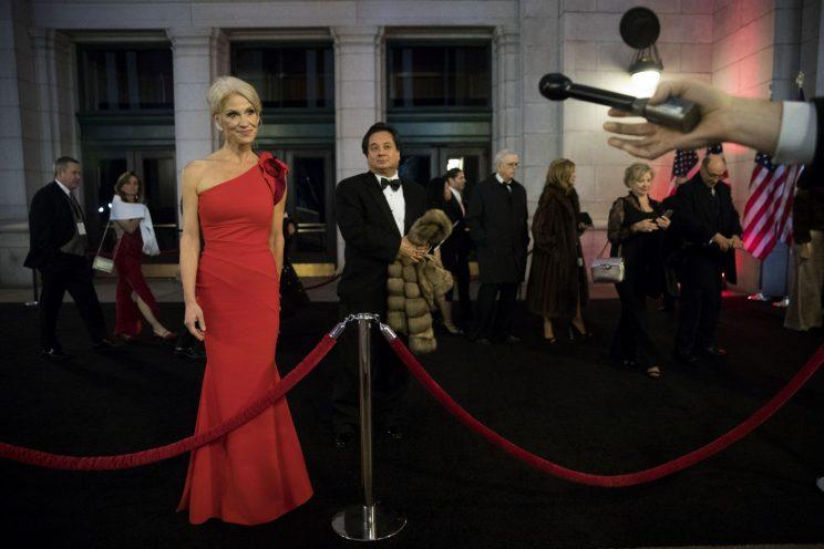Kellyanne Conway attends an event at Union Station. (Photo: Getty Images)