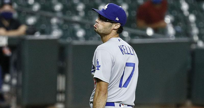 Dodgers' Joe Kelly banned for eight games after Astros clash
