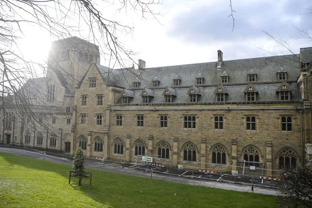 Ampleforth Abbey and College, where Turner committed offences against boys in the 1980s. (SWNS)