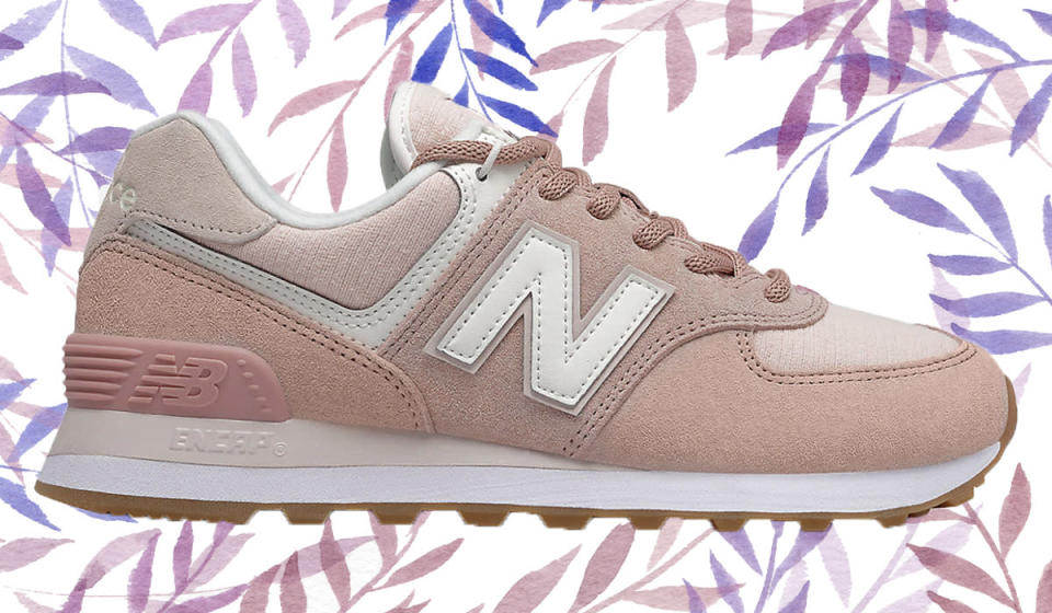 It's spring and summer in a shoe. (Photo: New Balance)