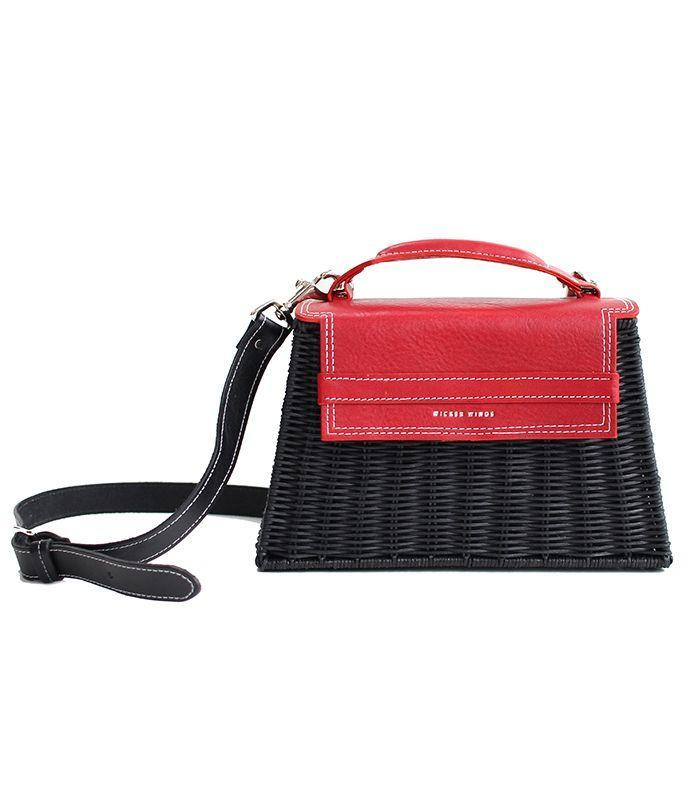 French girls would style this purse with a summer wrap dress.