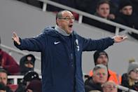 Under-fire Chelsea boss Maurizio Sarri refuses to his change his game-plan (AFP Photo/Ben STANSALL)