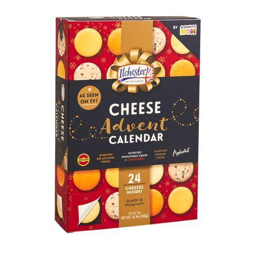 <p>Things can get a little cheesy this time of year, especially with this delicious gift. Spend the days leading up to Christmas unwrapping mini wheels of cheese, which includes everything from Jarlsberg® to Applewood®, Ilchester® Mature Cheddar and more.</p>