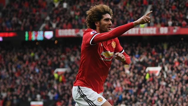 Marouane Fellaini's Manchester United contract expires in June and AC Milan are seemingly trying to sign the 30-year-old.