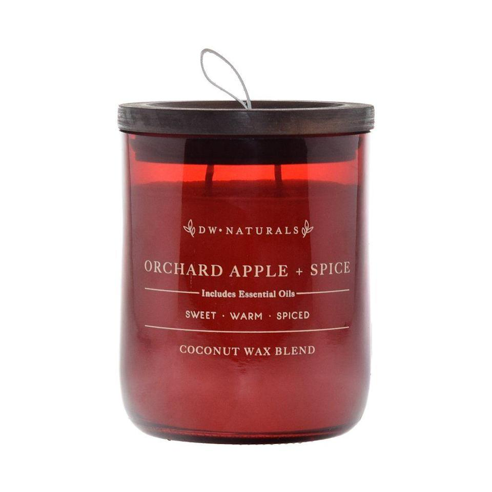"""<p>dwhome.com</p><p><strong>$20.00</strong></p><p><a href=""""https://www.dwhome.com/products/orchard-apple-spice"""" rel=""""nofollow noopener"""" target=""""_blank"""" data-ylk=""""slk:Shop Now"""" class=""""link rapid-noclick-resp"""">Shop Now</a></p><p>The combination of apple, cinnamon, nutmeg, and vanilla is everything we want in a fall candle.</p>"""