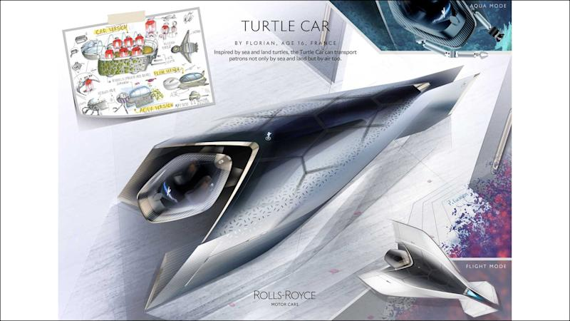 Rolls-Royce Young Designer Competition Winners Turtle Car