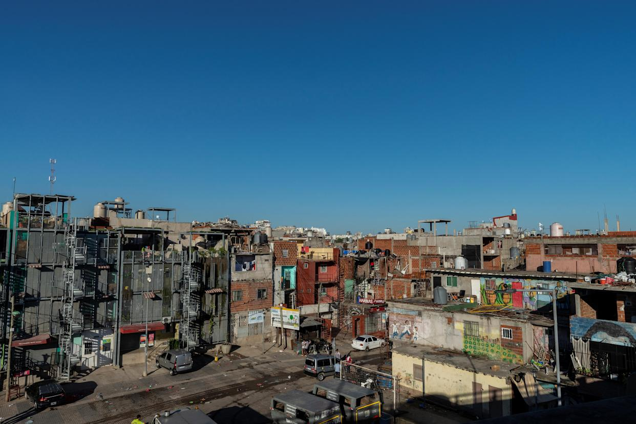 """A view of Villa 31, a populous and marginalized shantytown neighborhood in Buenos Aires, Argentina, March 5, 2019. Cases of the """"white death"""" illness, closely linked to poverty, malnutrition and poor housing, have been on the rise since the turn of the decade as Latin America's third-largest economy has grappled with repeat recessions and inflation. (Photo: Magali Druscovich/Reuters)"""