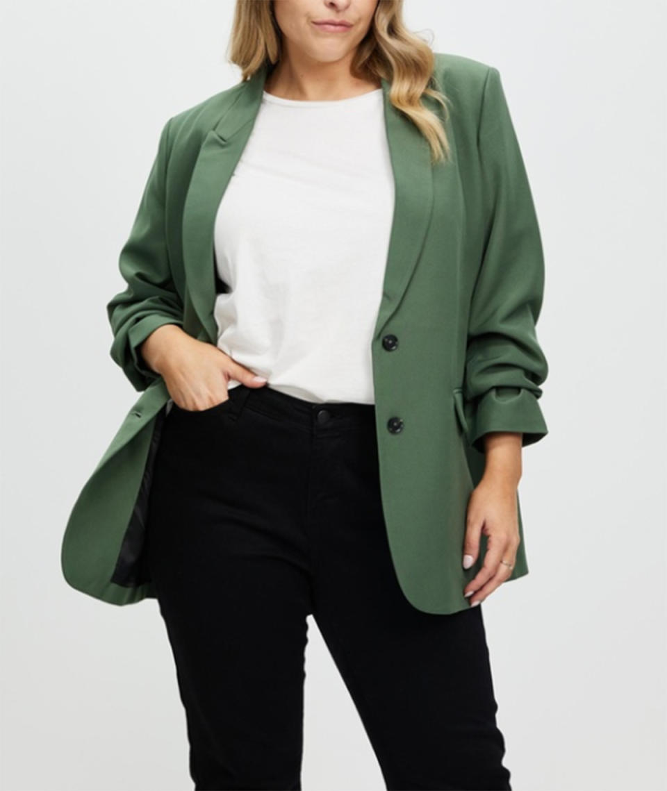 Atmos&Here Curvy Noele Blazer, $119.99 from The Iconic