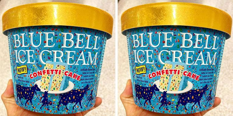 Peachy Blue Bells New Confetti Cake Ice Cream Will Have You Scooping Personalised Birthday Cards Veneteletsinfo