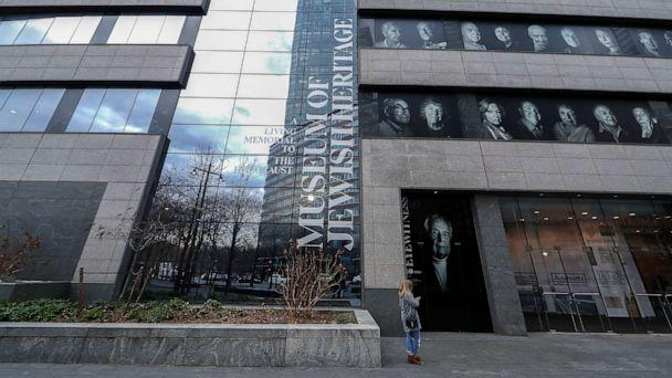 PHOTO: In this Jan 26, 2020, file photo, an exterior view of the Museum of Jewish Heritage 'A Living Memorial To The Holocaust'' is shown in New York. (John Lamparski/Sopa Images/Sipa USA via AP, FILE)