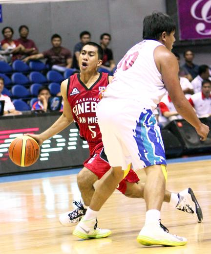 LA Tenorio, point guard, Barangay Ginebra San Miguel. (PBA Images)