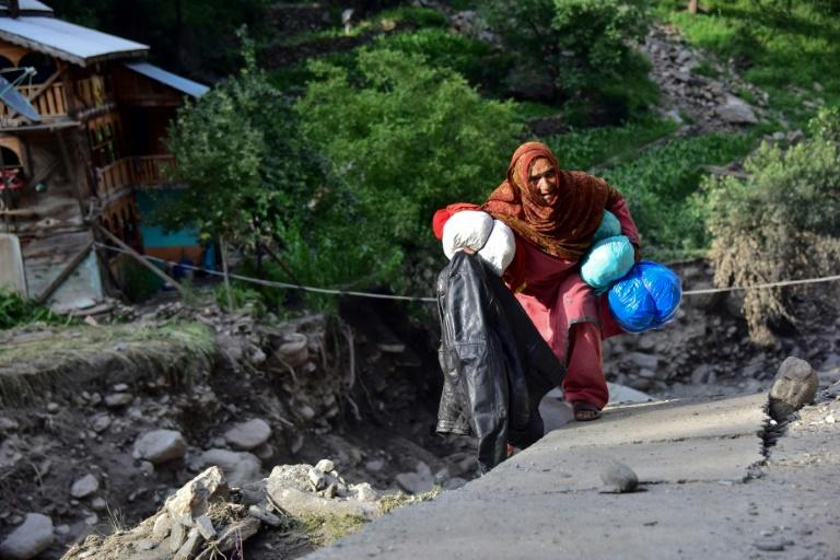 150 houses and businesses in Laswa Valley have been destroyed by monsoon floods