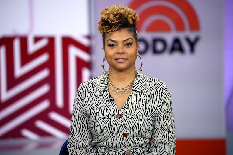 TODAY -- Pictured: Taraji P. Henson on Friday, January 24, 2020 -- (Photo by: Zach Pagano/NBC/NBCU Photo Bank via Getty Images)