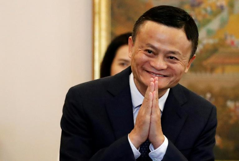 Former English teacher Jack Ma, 54, has become a globally recognised figure through his constant travel and playful antics