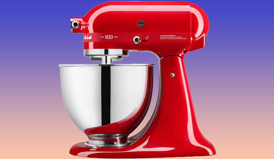 Mix it up with this colorful Kitchenaid. (Photo: Bed Bath & Beyond)