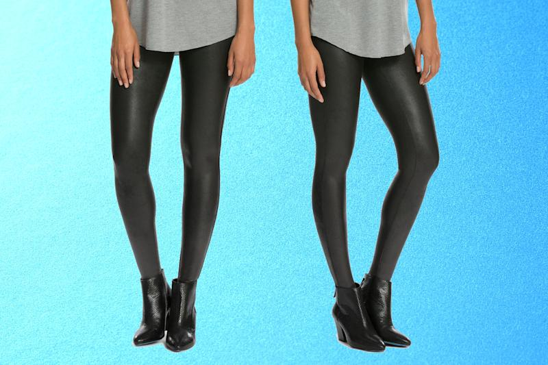Spanx Faux Leather Leggings. (Photo: Nordstrom)