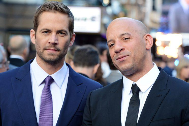 Paul Walker and Vin Diesel attend the world premiere of 'Fast And Furious 6' at The Empire Leicester Square on May 7, 2013, in London, England. (Photo: Dave J Hogan/Getty Images)