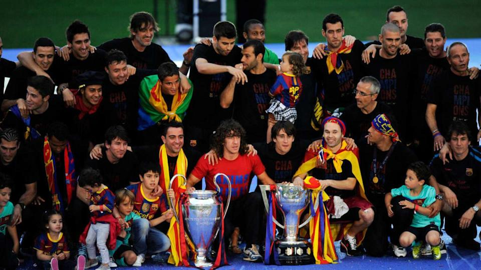 Barcelona Return Home Victorious With Champions League Trophy | David Ramos/Getty Images