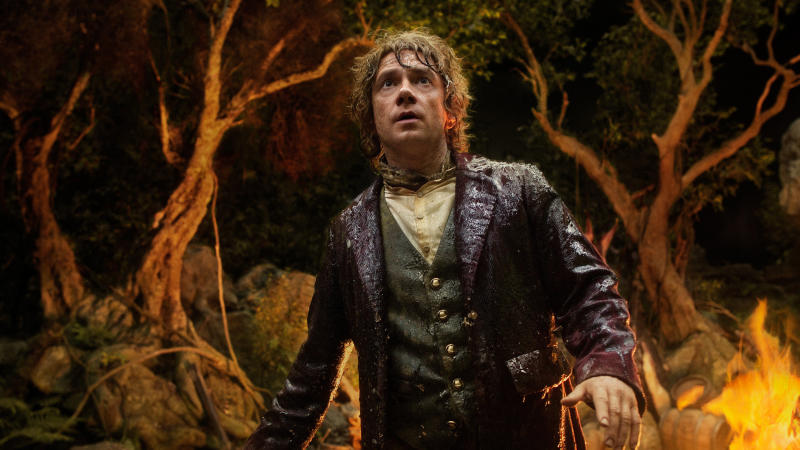 Martin Freeman in 'The Hobbit: An Unexpected Journey'. (Credit: Warner Bros)