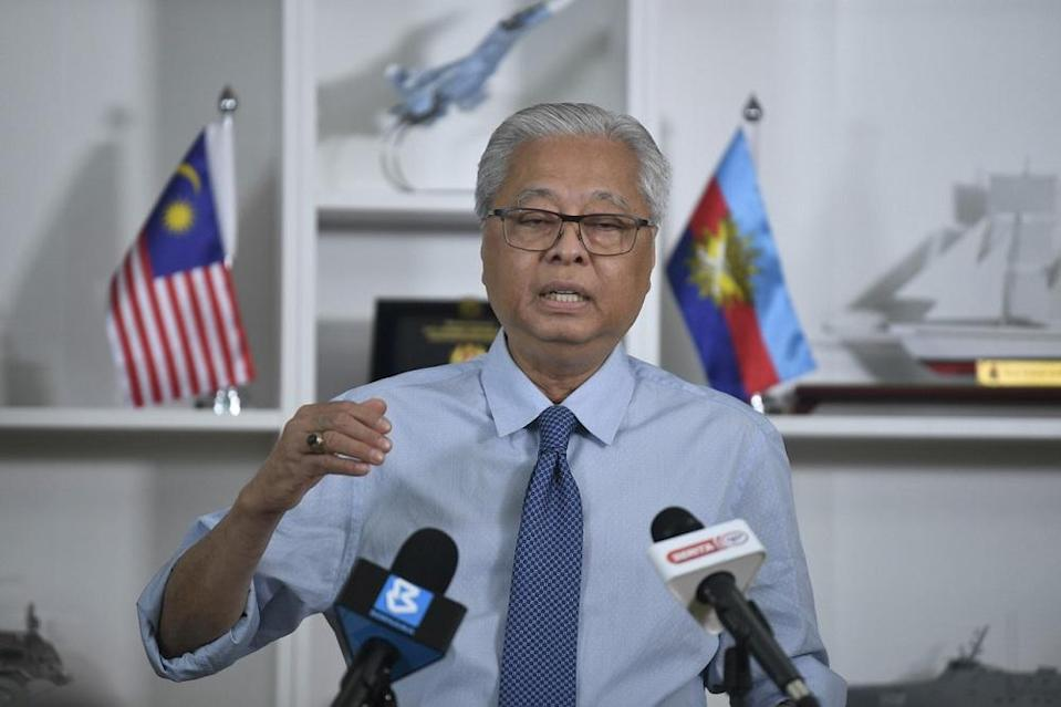 Senior Minister Datuk Seri Ismail Sabri Yaakob said the rules under the Federal Constitution are clear, adding that the EC has also said that a by-election will be held for the Batu Sapi parliamentary seat. — Bernama pic