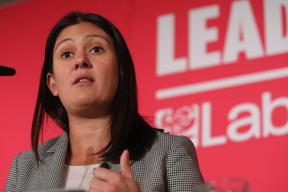 Lisa Nandy during the Labour leadership hustings at the ACC Liverpool. Picture date: Saturday January 18, 2020. Photo credit should read: Isabel Infantes / EMPICS Entertainment.