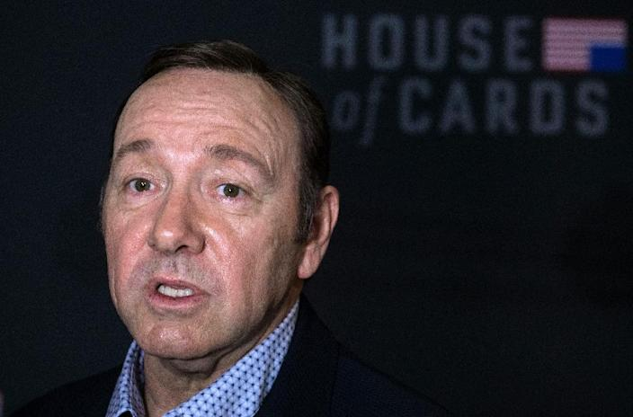 US actor Kevin Spacey is facing numerous claims of sexual assault and harassment (AFP Photo/Nicholas Kamm)