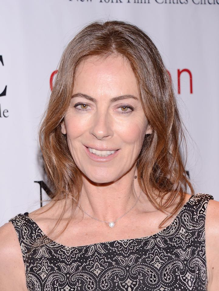 NEW YORK, NY - JANUARY 07: Filmmaker Kathryn Bigelow attends the 2012 New York Film Critics Circle Awards at Crimson on January 7, 2013 in New York City.  (Photo by Stephen Lovekin/Getty Images)