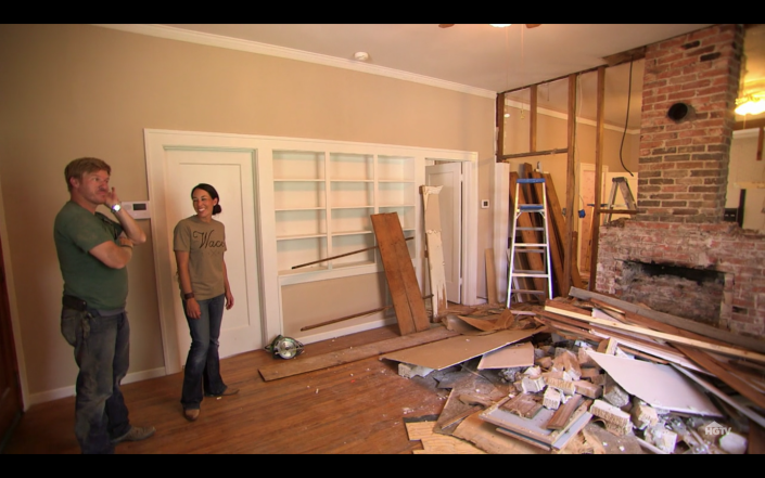 """<p>However, <a href=""""https://www.purewow.com/entertainment/does-hgtv-pay-for-renovations-on-fixer-upper"""" rel=""""nofollow noopener"""" target=""""_blank"""" data-ylk=""""slk:all projects are done"""" class=""""link rapid-noclick-resp"""">all projects are done </a><em><a href=""""https://www.purewow.com/entertainment/does-hgtv-pay-for-renovations-on-fixer-upper"""" rel=""""nofollow noopener"""" target=""""_blank"""" data-ylk=""""slk:at cost"""" class=""""link rapid-noclick-resp"""">at cost</a>—</em>so it ends up being less expensive than using a contractor in the traditional sense.</p>"""