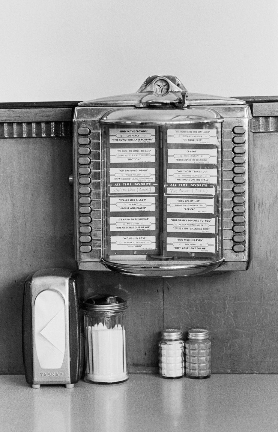 <p>Back in the day, mini jukeboxes were often found at the tables of diners and other restaurants. Customers could pay to play their favorite music at their table. These are rarely found anymore. </p>