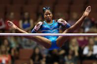 <p>Jordan committed to UCLA and plans to attend the prestigious university after the Olympic. Her plans are to study zoology. (Photo by Sean M. Haffey/Getty Images)</p>